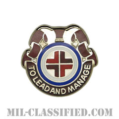 第330医療旅団(330th Medical Brigade)[カラー/クレスト(Crest・DUI・DI)バッジ]の画像