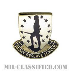 予備役学校(Reserve School)[カラー/クレスト(Crest・DUI・DI)バッジ]の画像