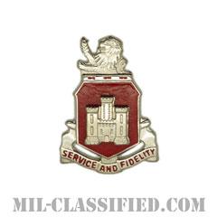 第113工兵大隊(113th Engineer Battalion)[カラー/クレスト(Crest・DUI・DI)バッジ]の画像