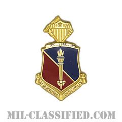 総務学校(Adjutant General School)[カラー/クレスト(Crest・DUI・DI)バッジ]の画像