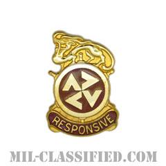第507輸送大隊(507th Transportation Battalion)[カラー/クレスト(Crest・DUI・DI)バッジ]の画像