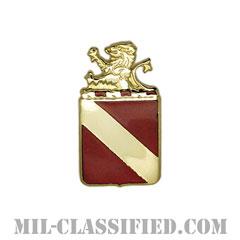 第35野戦砲兵連隊(35th Field Artillery Regiment)[カラー/クレスト(Crest・DUI・DI)バッジ]の画像