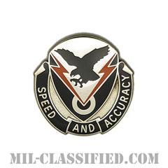 第327通信大隊(327th Signal Battalion)[カラー/クレスト(Crest・DUI・DI)バッジ]の画像