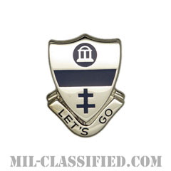 第325歩兵連隊(325th Infantry Regiment)[カラー/クレスト(Crest・DUI・DI)バッジ]の画像