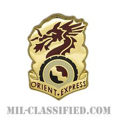 第7輸送大隊(7th Transportation Battalion)[カラー/クレスト(Crest・DUI・DI)バッジ]の画像