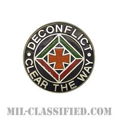 第58航空交通管制大隊(58th Air Traffic Control Battalion)[カラー/クレスト(Crest・DUI・DI)バッジ]の画像