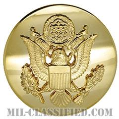 アメリカ陸軍制帽用帽章 (下士官用・男性用)(Army Service Cap Device, Enlisted, Male)[カラー/バッジ]の画像