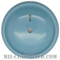 アメリカ陸軍制帽用帽章 (下士官用歩兵科帽章用ブルーディスク)(Army Service Cap Device, Enlisted, Infantry Blue Disc)[カラー/バッジ]の画像
