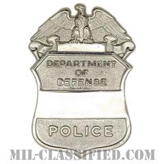アメリカ国防総省民間警察用帽章(Department of Defense, Civilian Police)[カラー/バッジ]の画像