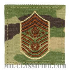 空軍最先任上級曹長(Chief Master Sergeant of the Air Force (CMSAF))[OCP/空軍階級章/ベルクロ付パッチ]の画像