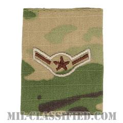 二等空兵(Airman)[OCP/ゴアテックスパーカー用スライドオン空軍階級章]の画像