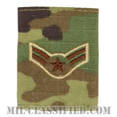 一等空兵(Airman First Class)[OCP/ゴアテックスパーカー用スライドオン空軍階級章]の画像