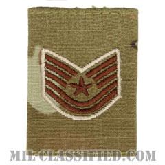 技能軍曹(Technical Sergeant)[OCP/ゴアテックスパーカー用スライドオン空軍階級章]の画像