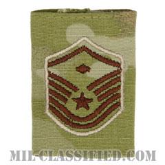 先任曹長(First Sergeant (E-7))[OCP/ゴアテックスパーカー用スライドオン空軍階級章]の画像