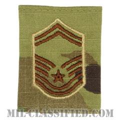 上級曹長(Senior Master Sergeant)[OCP/ゴアテックスパーカー用スライドオン空軍階級章]の画像