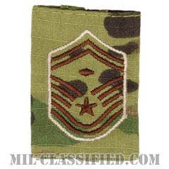 先任上級曹長(First Sergeant (E-8))[OCP/ゴアテックスパーカー用スライドオン空軍階級章]の画像