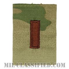 少尉(Second Lieutenant (2LT))[OCP/ゴアテックスパーカー用スライドオン空軍階級章]の画像