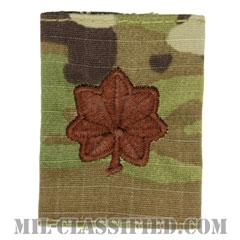 少佐(Major (MAJ))[OCP/ゴアテックスパーカー用スライドオン空軍階級章]の画像