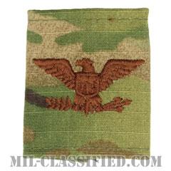 大佐(Colonel (COL))[OCP/ゴアテックスパーカー用スライドオン空軍階級章]の画像