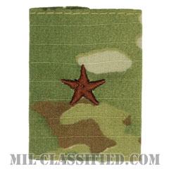 准将(Brigadier General (BG))[OCP/ゴアテックスパーカー用スライドオン空軍階級章]の画像
