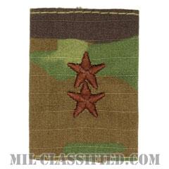 少将(Major General (MG))[OCP/ゴアテックスパーカー用スライドオン空軍階級章]の画像