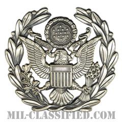 アメリカ空軍制帽用帽章 (空軍最先任上級曹長)(AirForce Service Cap Device, Chief Master Sergeant of the AirForce)[カラー/バッジ]の画像
