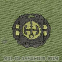 原子炉運転員章 (1級)(Nuclear Reactor Operator Badge, First Class)[サブデュード/1965-1990/パッチ]の画像