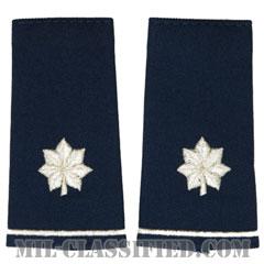 中佐(Lieutenant Colonel (LTC))[空軍ブルー/ショルダー階級章/ロングサイズ肩章/ペア(2枚1組)]の画像