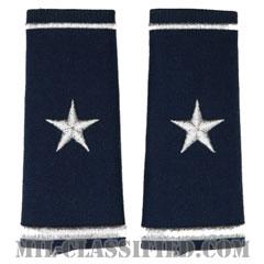 准将(Brigadier General (BG))[空軍ブルー/ショルダー階級章/ロングサイズ肩章/ペア(2枚1組)]の画像