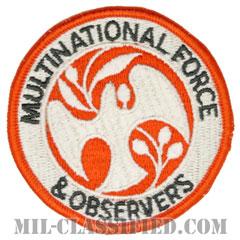 多国籍軍監視団(Multinational Force and Observers / MFO)[カラー/メロウエッジ/パッチ]の画像