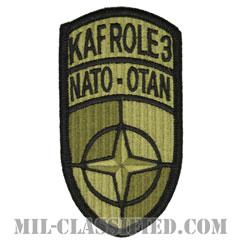 アフガニスタン国際治安支援部隊カンダハール飛行場医療部隊(KAFROLE3)[OCP/メロウエッジ/ベルクロ付パッチ]の画像