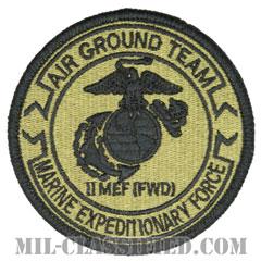 第2海兵遠征軍空地任務部隊(2nd MEF, MAGTF)[OCP/メロウエッジ/ベルクロ付パッチ]の画像