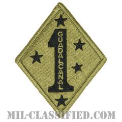 第1海兵師団(1st Marine Division)[OCP/メロウエッジ/ベルクロ付パッチ]の画像
