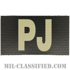 PJ(戦闘捜索救難員)(Paraescue Jumper)[IR(赤外線)反射素材/3.5インチ幅/ベルクロ付パッチ]の画像