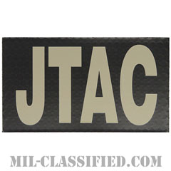 JTAC(統合末端攻撃統制官)(Joint terminal attack controller)[IR(赤外線)反射素材/3.5インチ幅/ベルクロ付パッチ]の画像