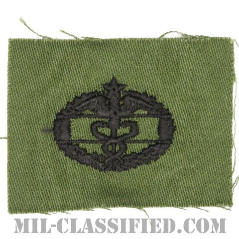 戦闘医療章 (セカンド)(Combat Medical Badge (CMB), Second Award)[サブデュード/1960s/コットン100%/パッチ]の画像