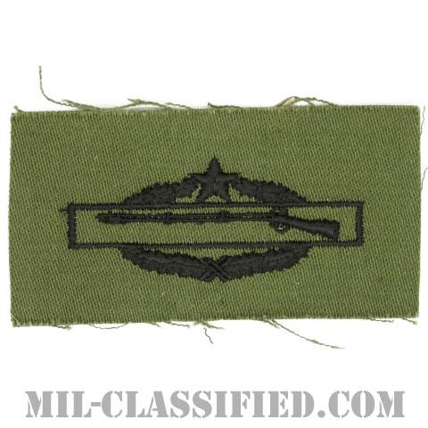 戦闘歩兵章 (セカンド)(Combat Infantryman Badge (CIB), Second Award)[サブデュード/1960s/コットン100%/パッチ]の画像