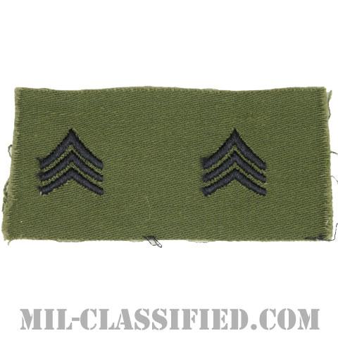 軍曹(Sergeant (SGT))[サブデュード/1960s/コットン100%/パッチ/ペア(2枚1組)]の画像