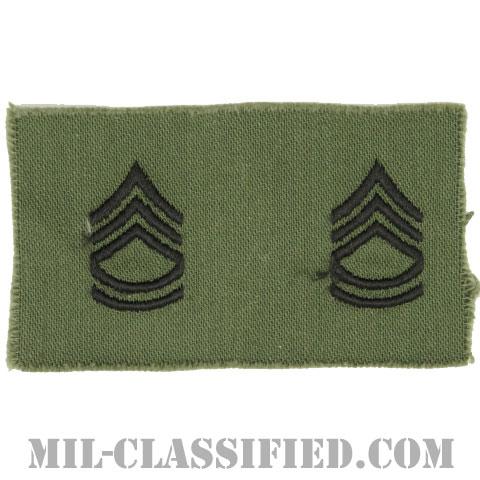 一等軍曹(Sergeant First Class (SFC))[サブデュード/1960s/コットン100%/パッチ/ペア(2枚1組)]の画像