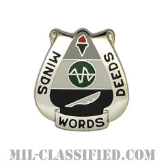 第15心理作戦大隊(15th Psychological Operations Battalion)[カラー/クレスト(Crest・DUI・DI)バッジ]の画像