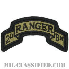 第75レンジャー連隊第2大隊(2nd Battalion, 75th Ranger Regiment)[OCP/メロウエッジ/ベルクロ付パッチ]の画像