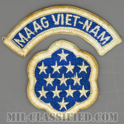 ベトナム軍事援助顧問群(MAAG-VIETNAM)[カラー/メロウエッジ/パッチ/タブ付/1点物]の画像