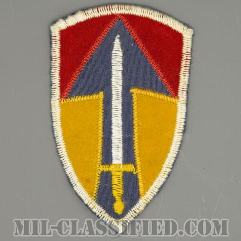 ベトナム第2野戦軍(2nd Field Force, Vietnam)[カラー/カットエッジ/パッチ/ローカルメイド/一部ベルベット生地/1点物]の画像
