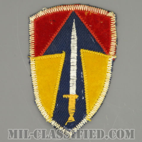 ベトナム第2野戦軍(2nd Field Force, Vietnam)[カラー/カットエッジ/パッチ/ローカルメイド/一部ベルベット生地/中古1点物]の画像