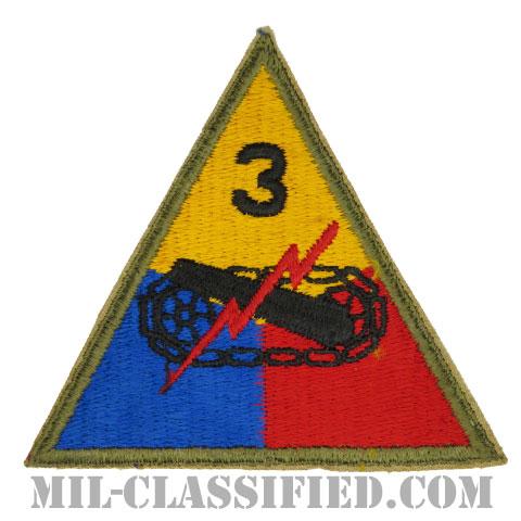 第3機甲師団(3rd Armored Division)[カラー/カットエッジ/パッチ/1点物]の画像