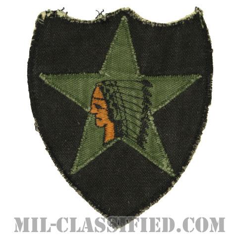 第2歩兵師団(2nd Infantry Division)サブデュード/カットエッジ/パッチ/ローカルメイド/中古1点物]の画像