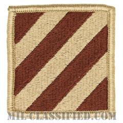 第3歩兵師団(3rd Infantry Division)[デザート/メロウエッジ/パッチ]の画像