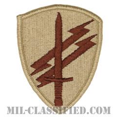 アメリカ陸軍民事活動および心理作戦司令部(USACAPOC)[デザート/メロウエッジ/パッチ]の画像