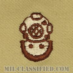 潜水員章 (2級)(Diver Badge, Second Class)[デザート/パッチ]の画像