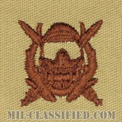 特殊作戦潜水員章(Diver Badge, Special Operations Diver)[デザート/パッチ]の画像